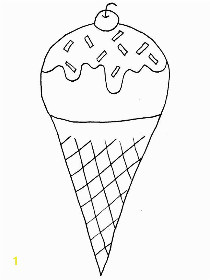 Ice Cream Cone Coloring Pages Free Printable Ice Cream Coloring Pages for Kids In 2018
