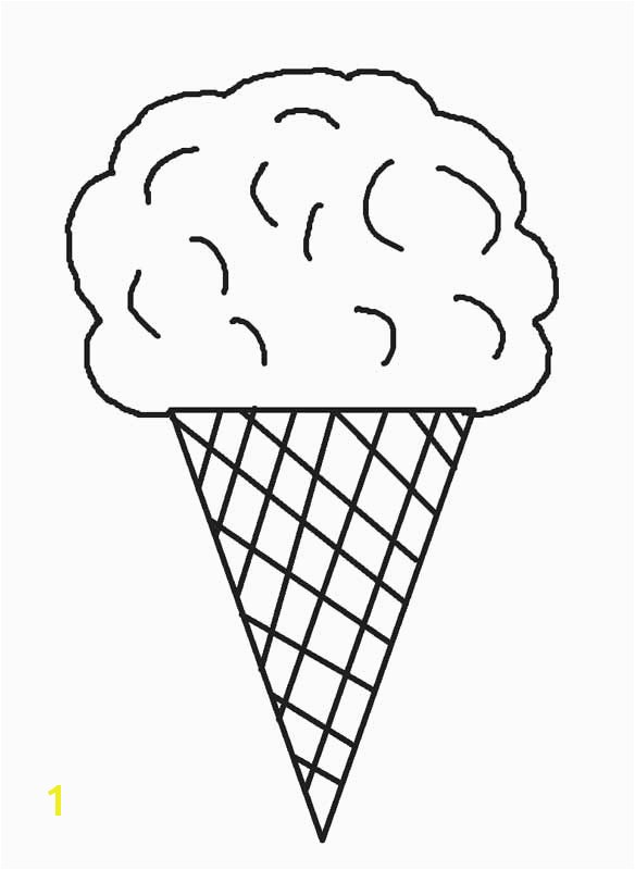 Ice Cream Cone Coloring Pages Free Printable Ice Cream Coloring Pages for Kids
