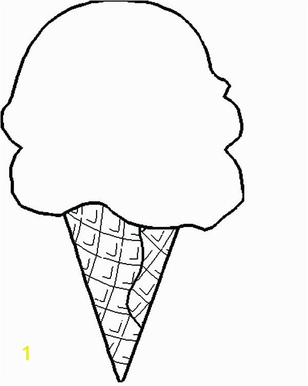 ice cream cone coloring sheet ice cream cone coloring pages to print happysales template