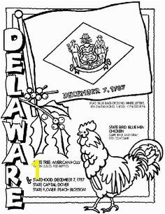 US Geography Delaware State Symbol Coloring Page by Crayola Print or color online