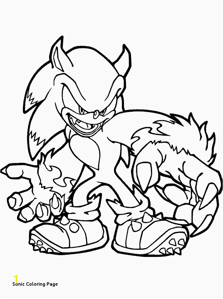 Sonic the Hedgehog Coloring Elegant sonic Coloring Page Coloring Pages Line New Line Coloring 0d