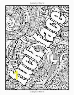 Swear Word Stress Relieving Coloring Book 37 Funny Swearing and Cursing Designs For Angry People Curse Word Coloring Books Volume