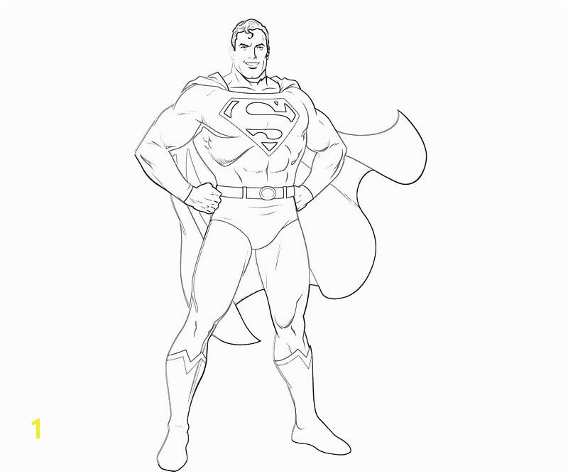 Injustice Gods Among Us Superman Smile Coloring Pages