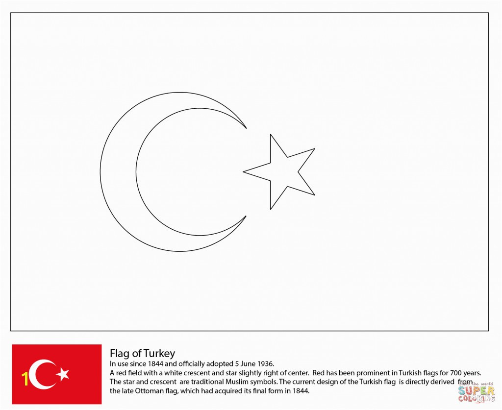Iraq Flag Coloring Page New Flag Turkey for Coloring Page Countries & Culture asian Flags