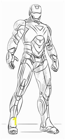 Iron Man Coloring Page Iron Man Coloring Page