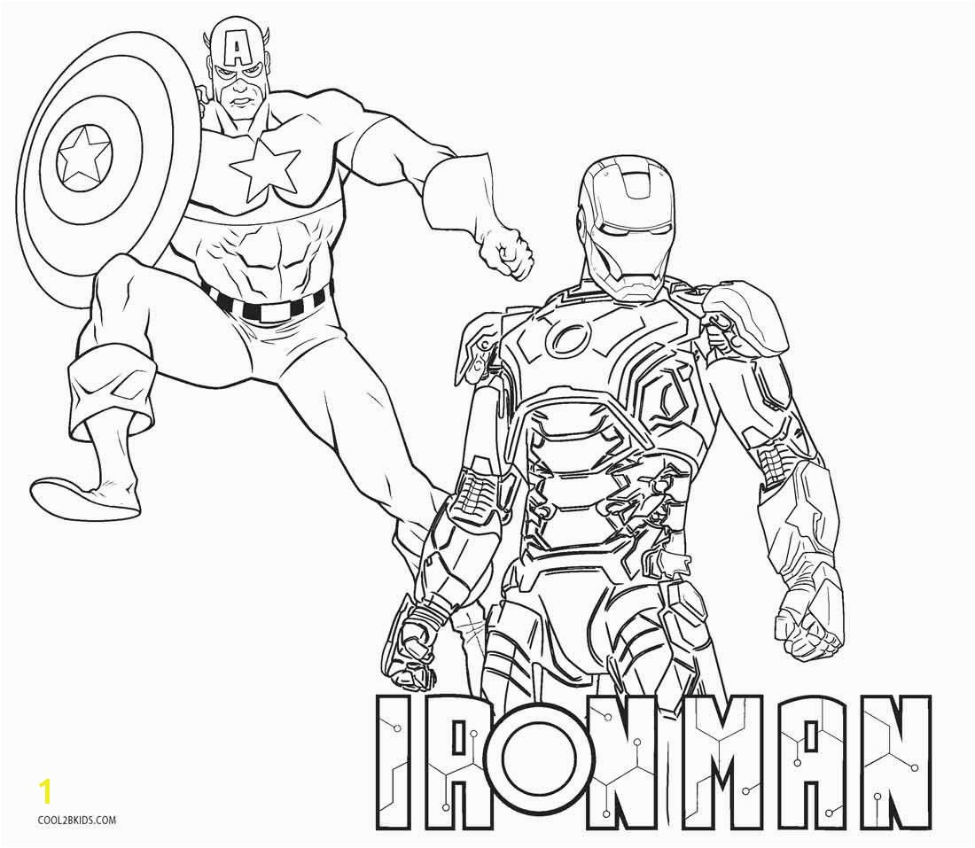 Just Arrived Iron Man Coloring Pages Free At Page