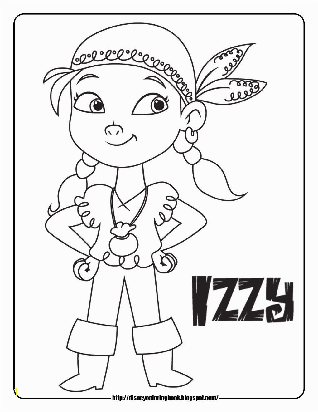 Disney Coloring Pages and Sheets for Kids Jake and the Neverland Pirates 1 Free