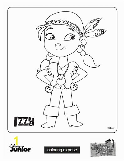 Jake and The Neverland Pirates Coloring Pages image to Download