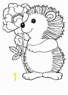 """Hedgie s Easter Eggs"" Spring coloring page courtesy of Jan Brett a children s book illustrator Her page has …"