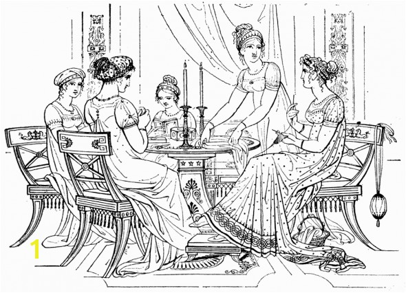 Beautiful Dress Coloring Pages and for Adults and Kids