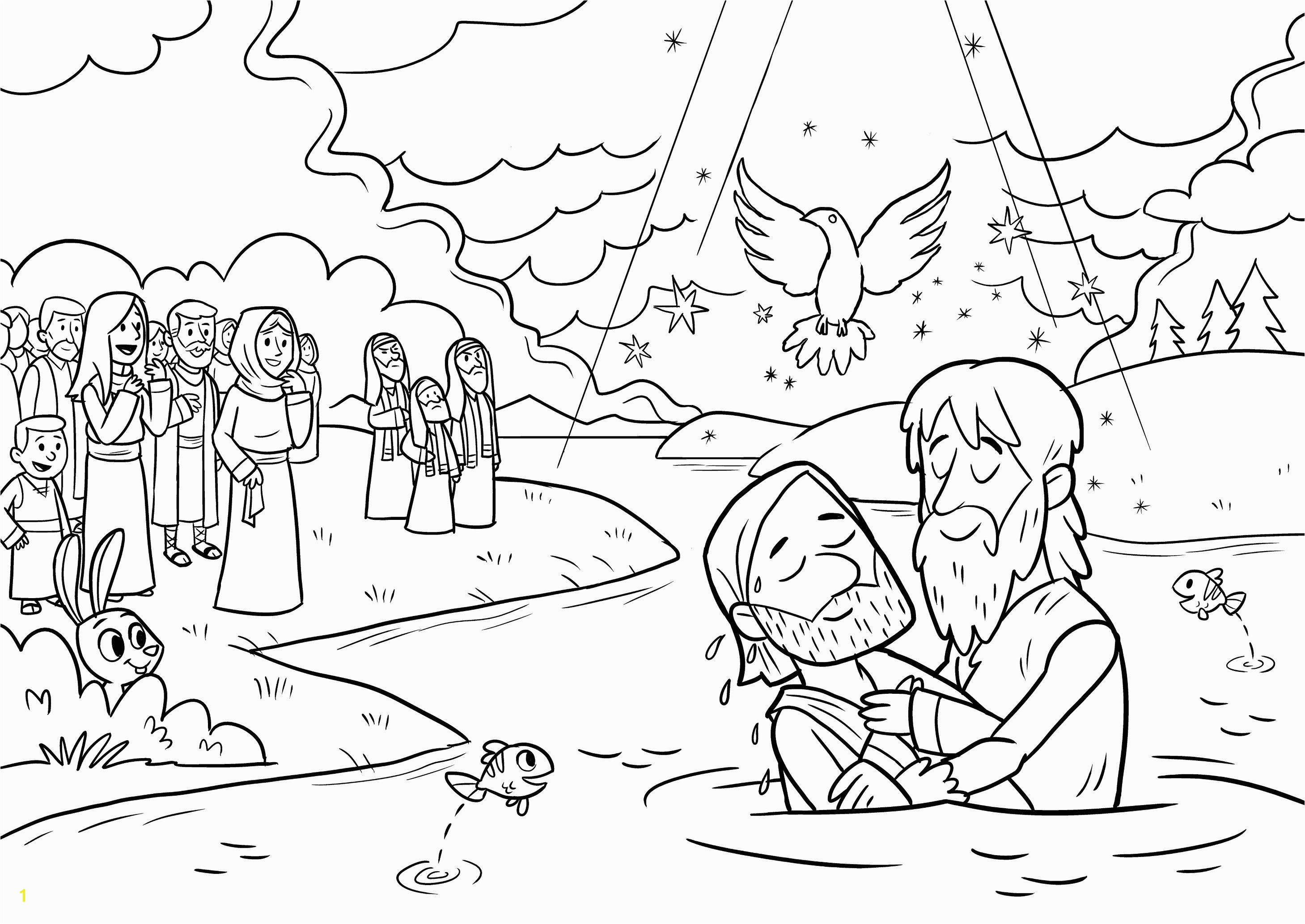 Jesus Baptism Coloring Page Lovely Free Coloring Pages Jesus New Smart Jesus Baptism Coloring Page