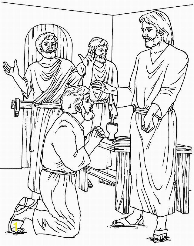 Gallery Jesus and Thomas Coloring Pages Awesome Free Fish Coloring Pages New Disciples Od Jesus Christ Catching Stock