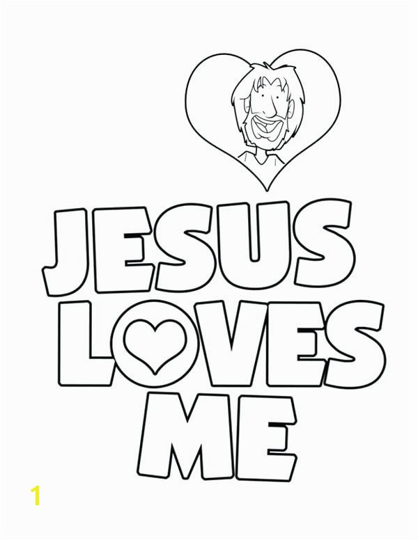 13 Inspirational Jesus Loves You Coloring Page s