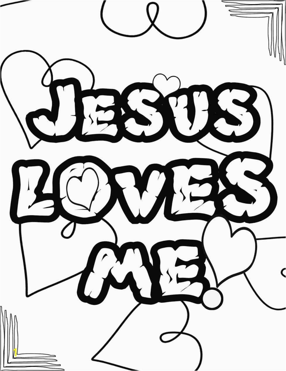 Popular Jesus Loves Me Coloring Sheet Page Color Pages For Kids Jesus Loves Me Coloring Page