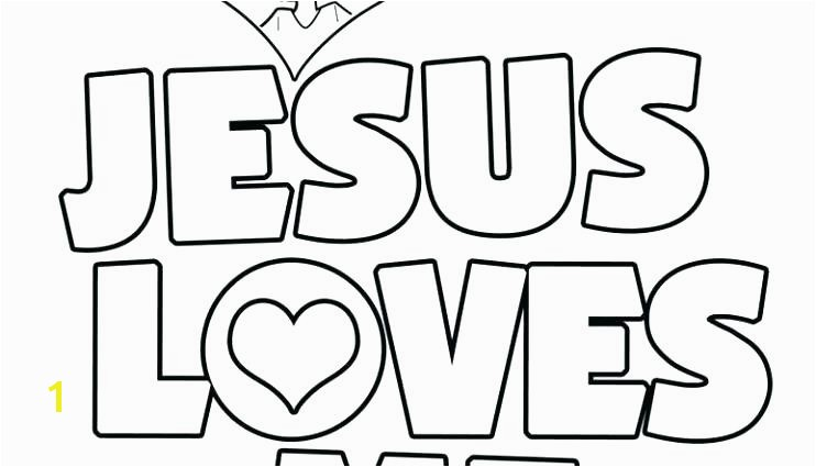 Inspirational Jesus Loves Me Coloring Page More Image Ideas