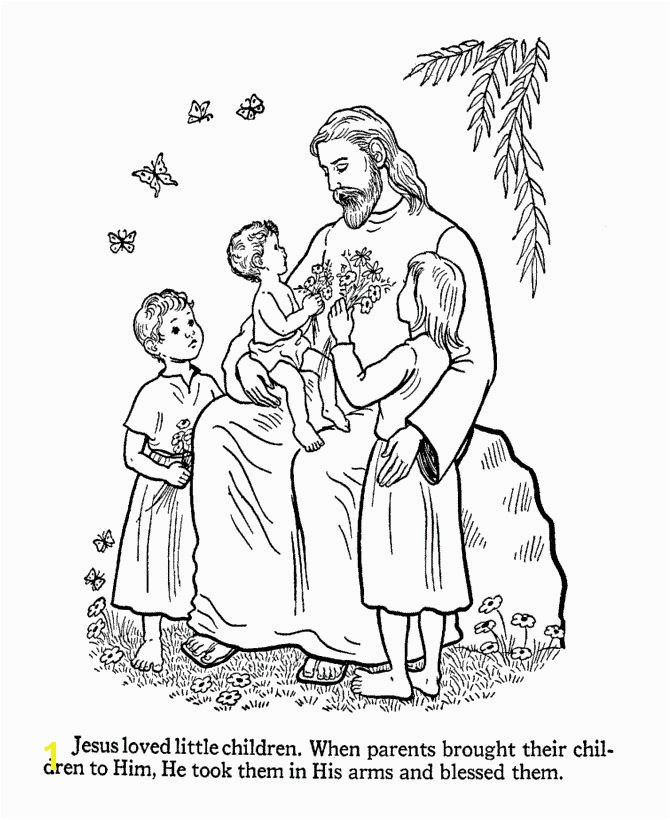 Jesus with Child Coloring Page Awesome 14 Best Jesus Loves the Little Children Pinterest