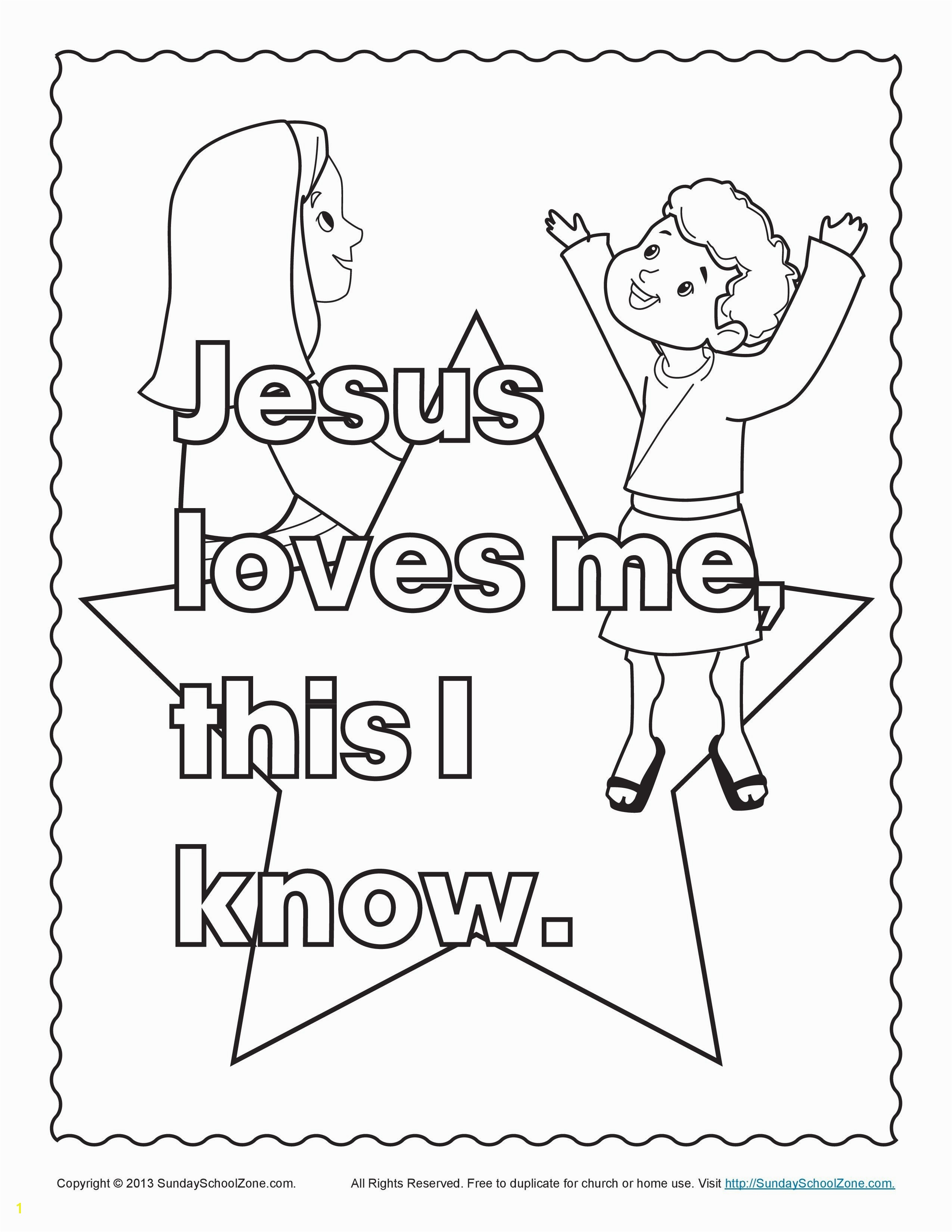 Jesus Coloring Pages And The Children Bible Page S