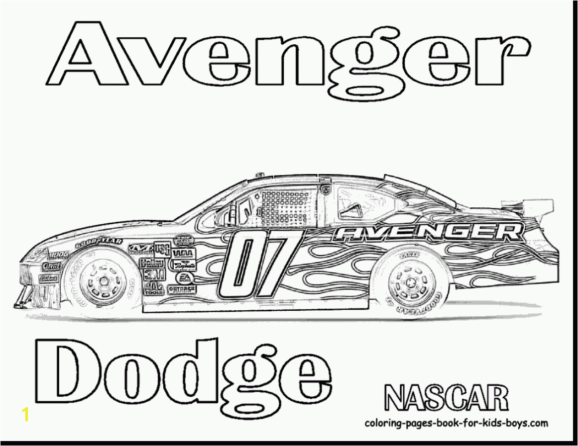 awesome nascar 88 coloring pages