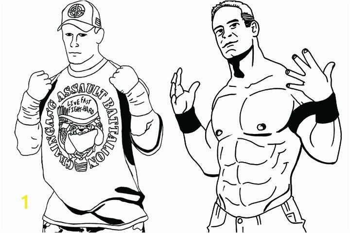 John Cena Coloring Page John Coloring Pages John Coloring Easy Sketch Templates John Cena Coloring Sheets