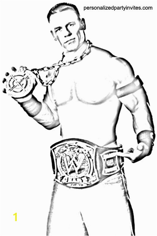 john cena coloring pages