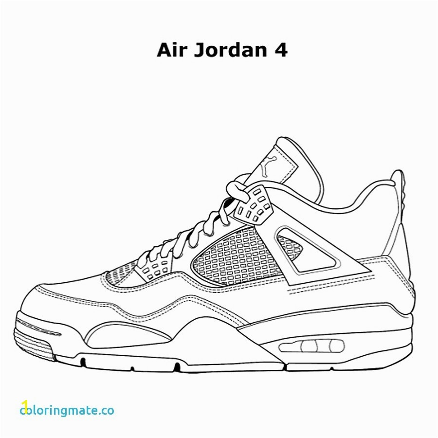 Air Jordan Coloring Book Elegant Air Jordan Coloring Pages Printable