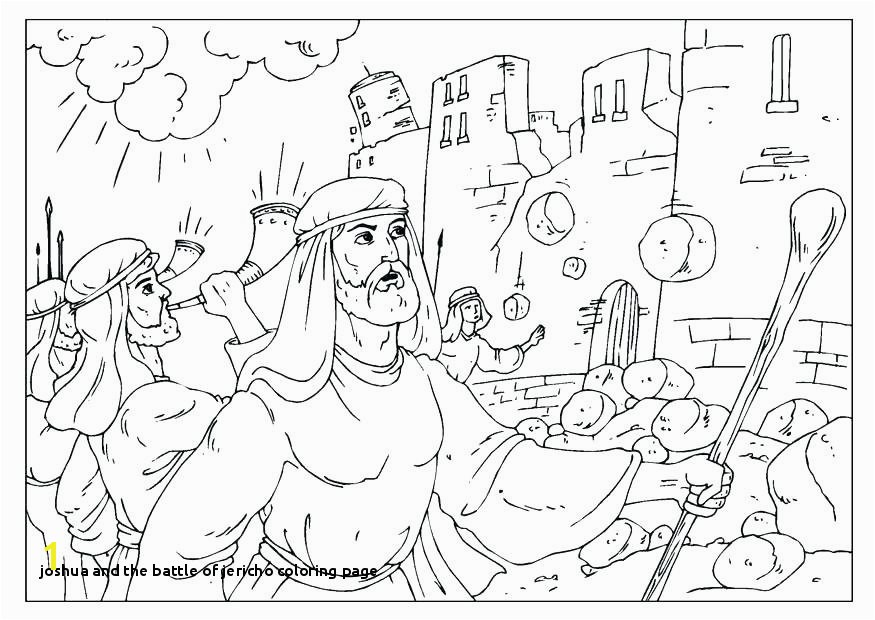 Coloring Pages And Sheets Bible Wall Joshua Jericho – mmobilgesi
