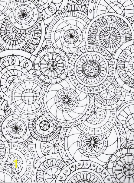 kaleidoscope pattern coloring pages doodle flower coloring pagepage2