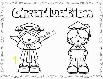 Graduation Coloring Pages FREEBIE