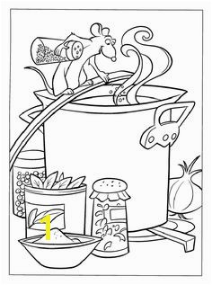 Ratatouille Coloring Pages 37 594—800