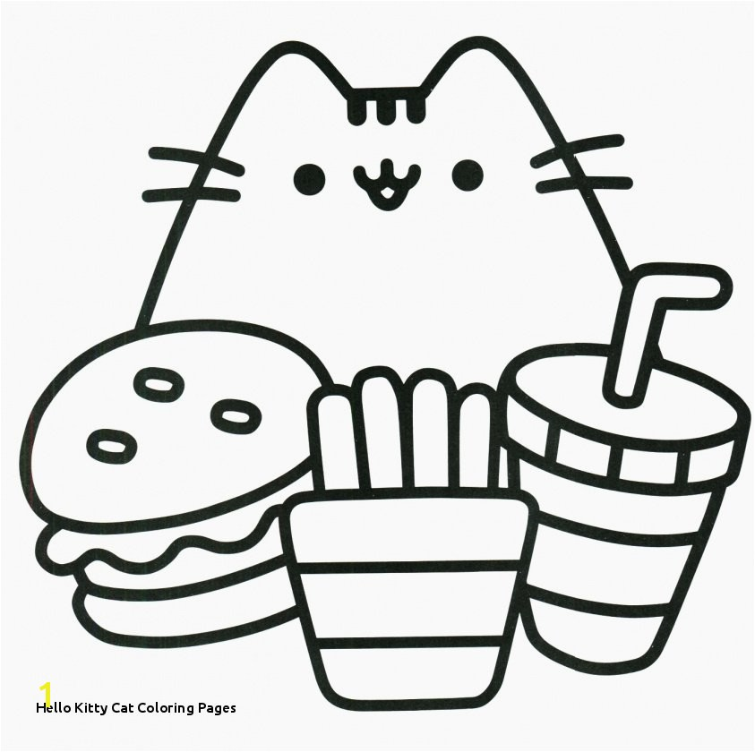 Hello Kitty Cat Coloring Pages Awesome Free Printable Hello Kitty Coloring Pages New Cool Od Dog