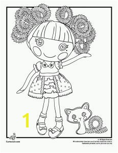 Silly Hair Jewel Sparkles Lalaloopsy Coloring Page 5 more Lalaloopsie characters to color Site