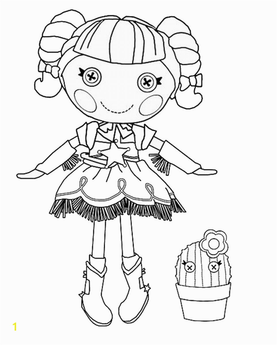 Lala Loopsy Coloring Pages