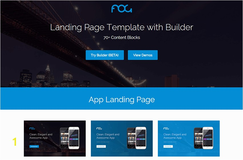 22 Best Bootstrap landing page templates 2016