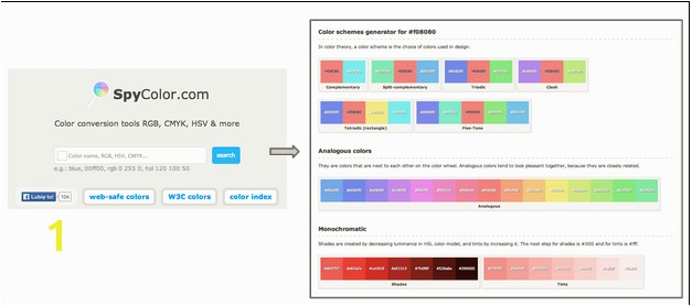 Free Color Scheme Tools Spy Color
