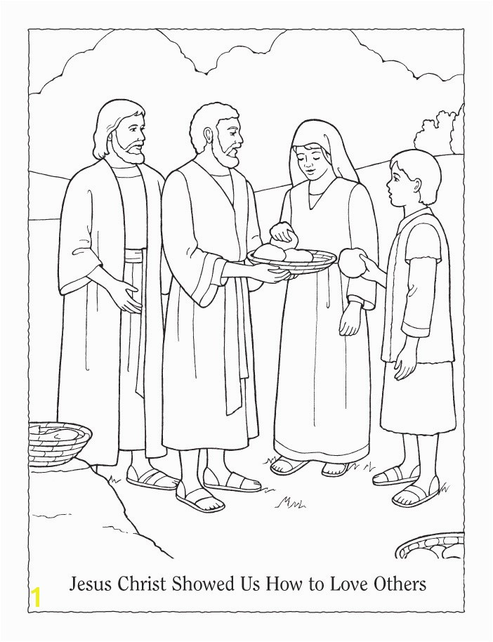 Lds Coloring Pages Love One Another Lesson 5 Jesus Christ Showed Us How to Love Others
