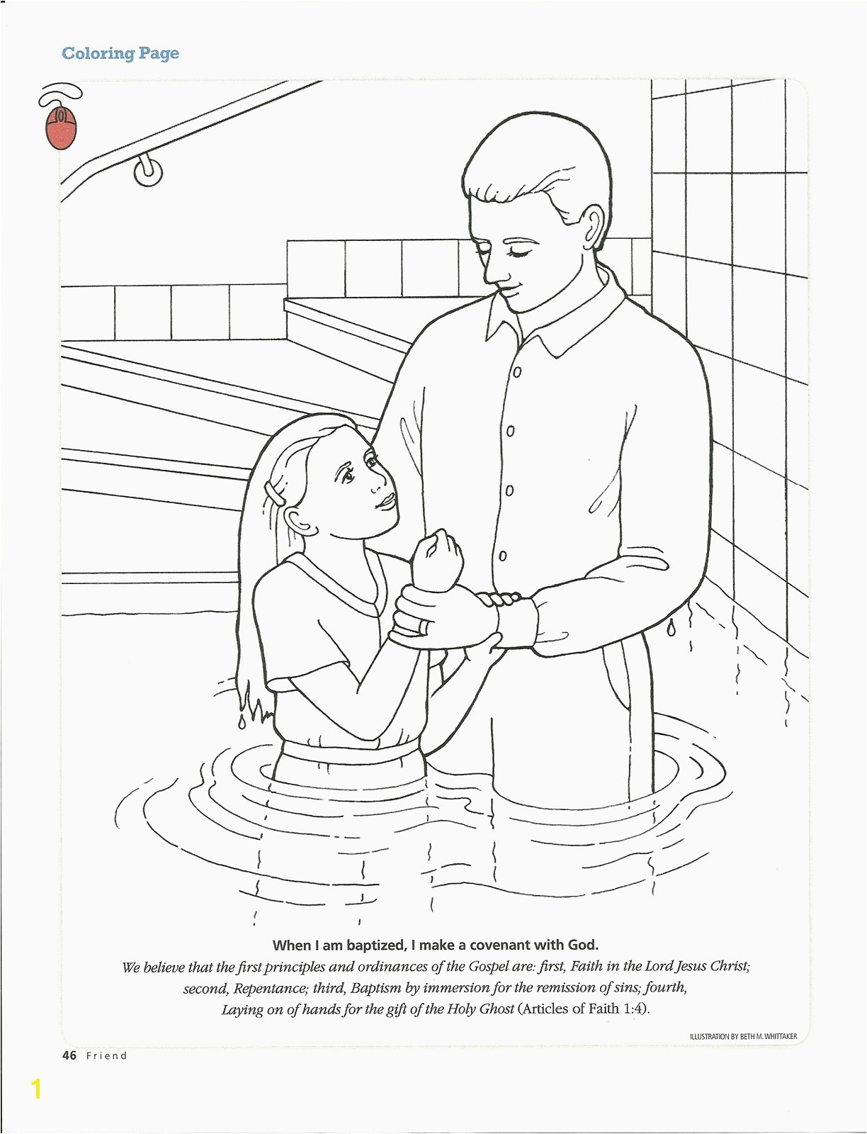 Lds Repentance Coloring Page Inspirational Baptism Coloring Pages Printables Jesus Coloring Pages Lds