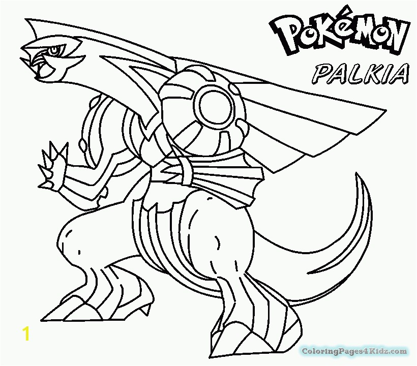 Legendary Pokemon Coloring Pages Palkia Legendary Pokemon Coloring Extraordinary Legendary Pokemon Coloring Pages Palkia