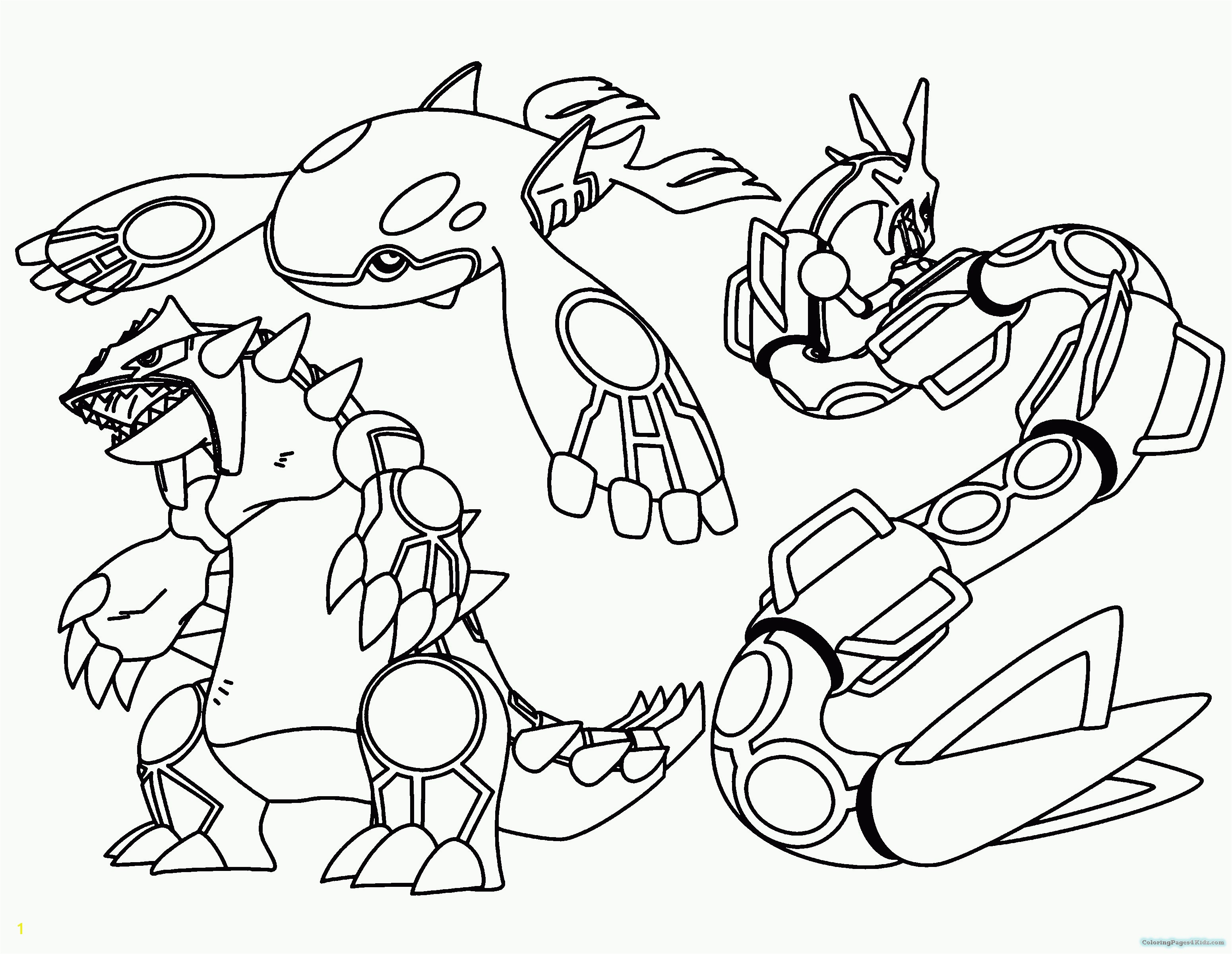 Legendary Pokemon Coloring Pages Free Printable Pages to Color Valid Mainstream All Legendary Pokemon