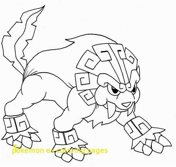 Legendary Pokemon Coloring Pages Printable Ex With Best