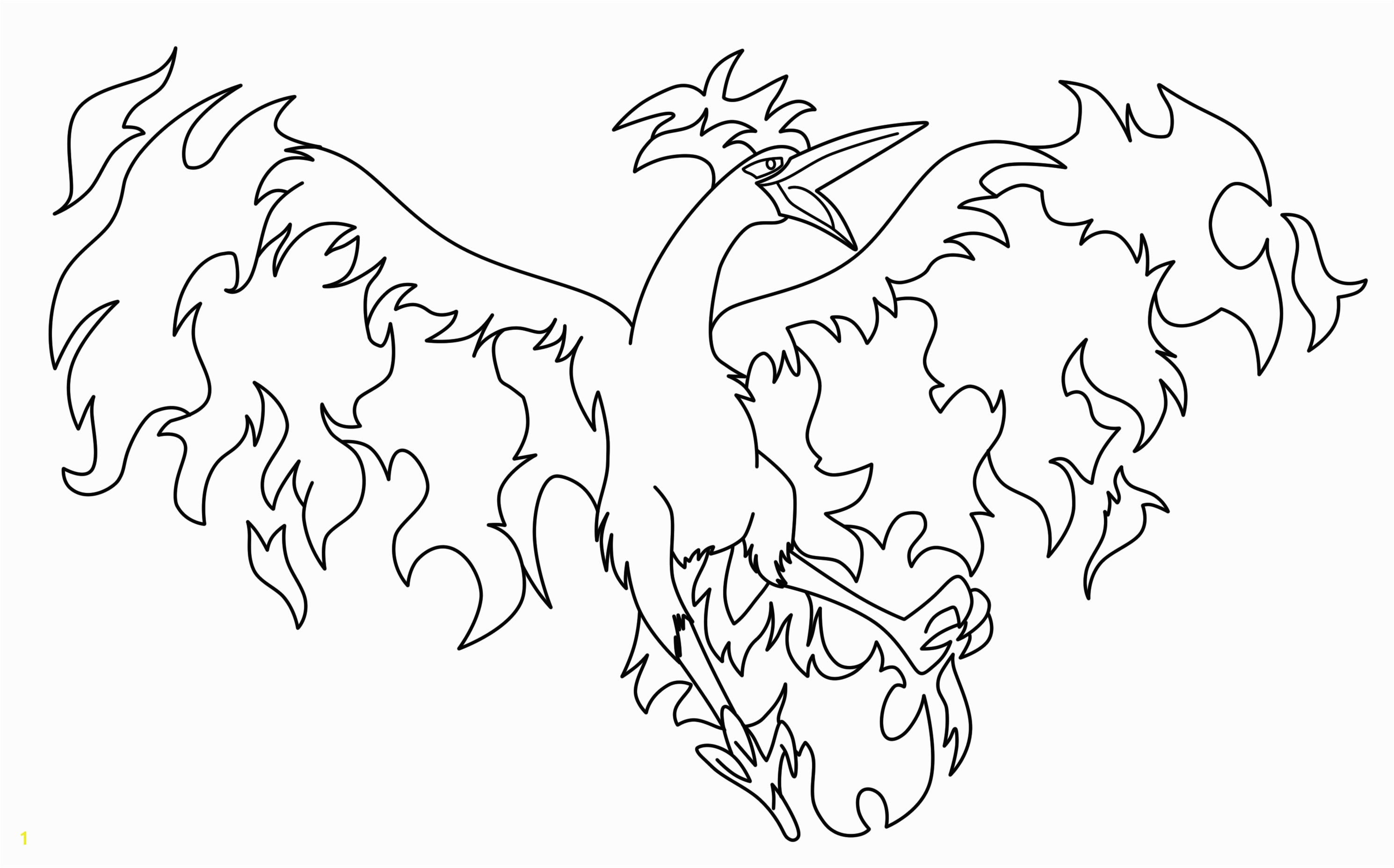 Legendary Pokemon Coloring Pages Printable Legendary Pokemon Coloring Pages