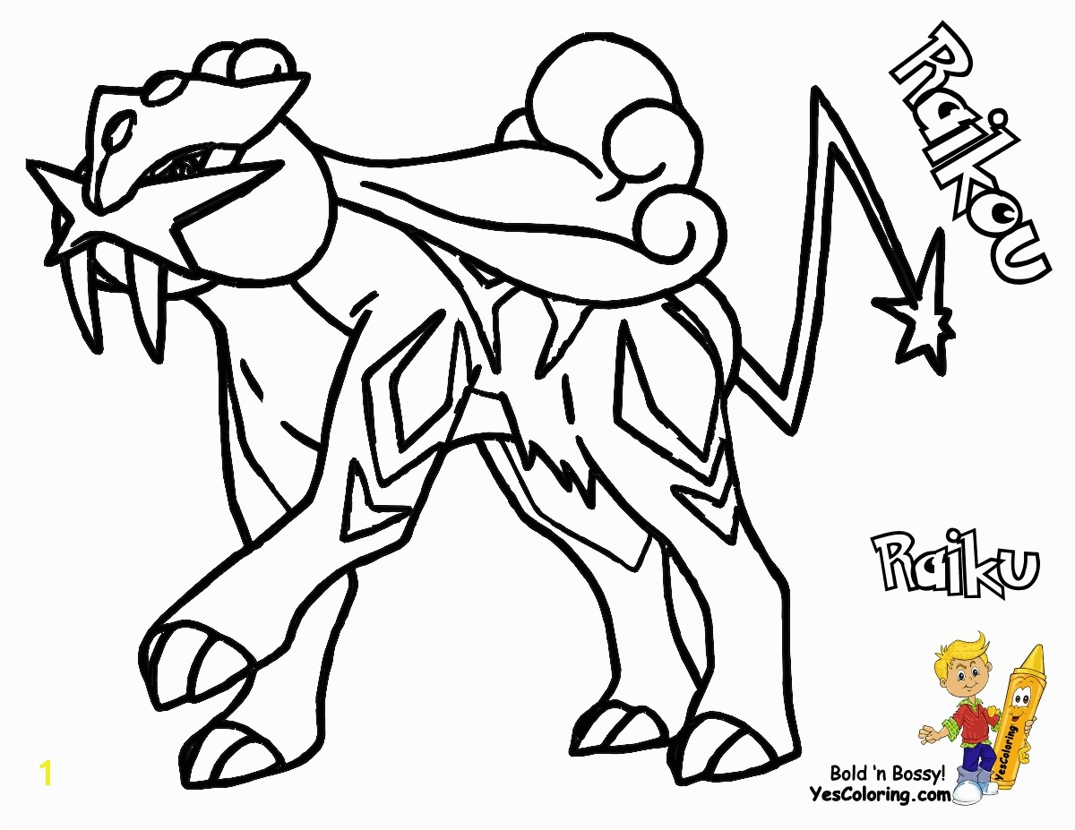 Coloring Pages Detail Name Legendary Pokemon to Print