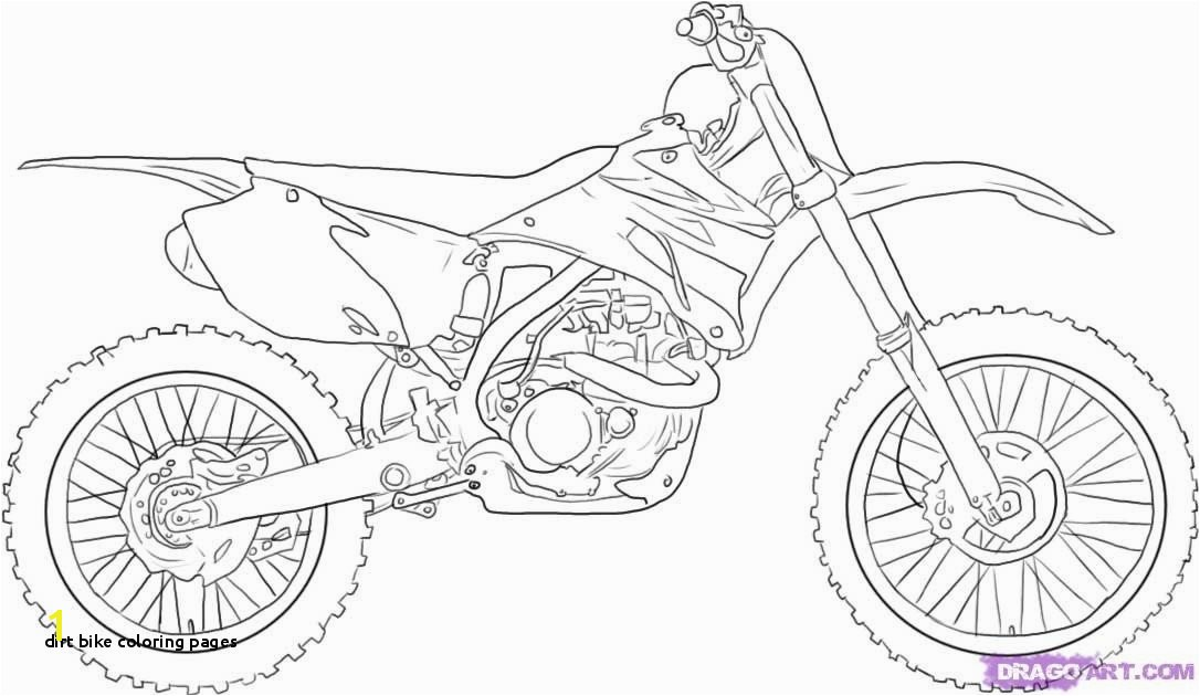 28 Dirt Bike Coloring Pages