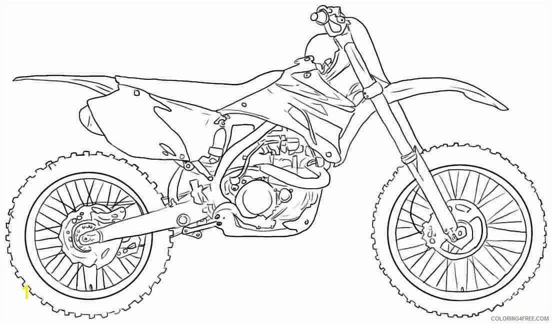 Motorcycle Coloring Pages 20 Lovely Dirt Bike Coloring Pages