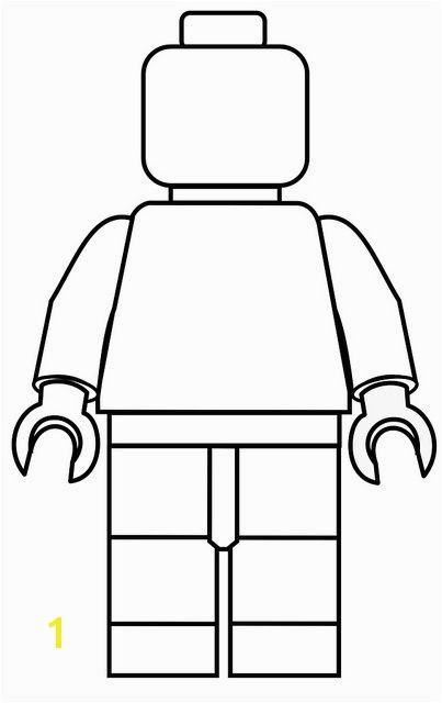 Lego Figure Coloring Page Create Your Own Lego Minifigures Printables for Boys & Girls