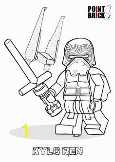 Disegni da Colorare LEGO Star Wars the Force Awakens Kylo Ren Clicca sull