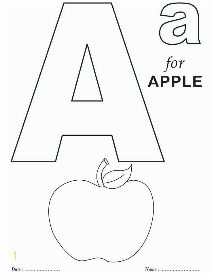 Alphabet Coloring Pages Pdf Luxury the Letter A Coloring Page My A to Z Coloring Book