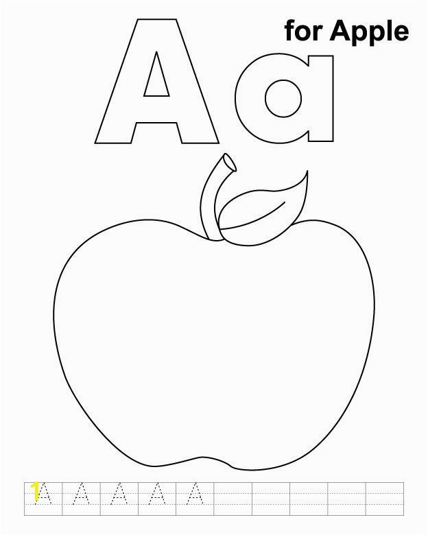 Letter A for Apple Coloring Pages Letter A for Apple Coloring Pages Best 41 Unique the Letter R