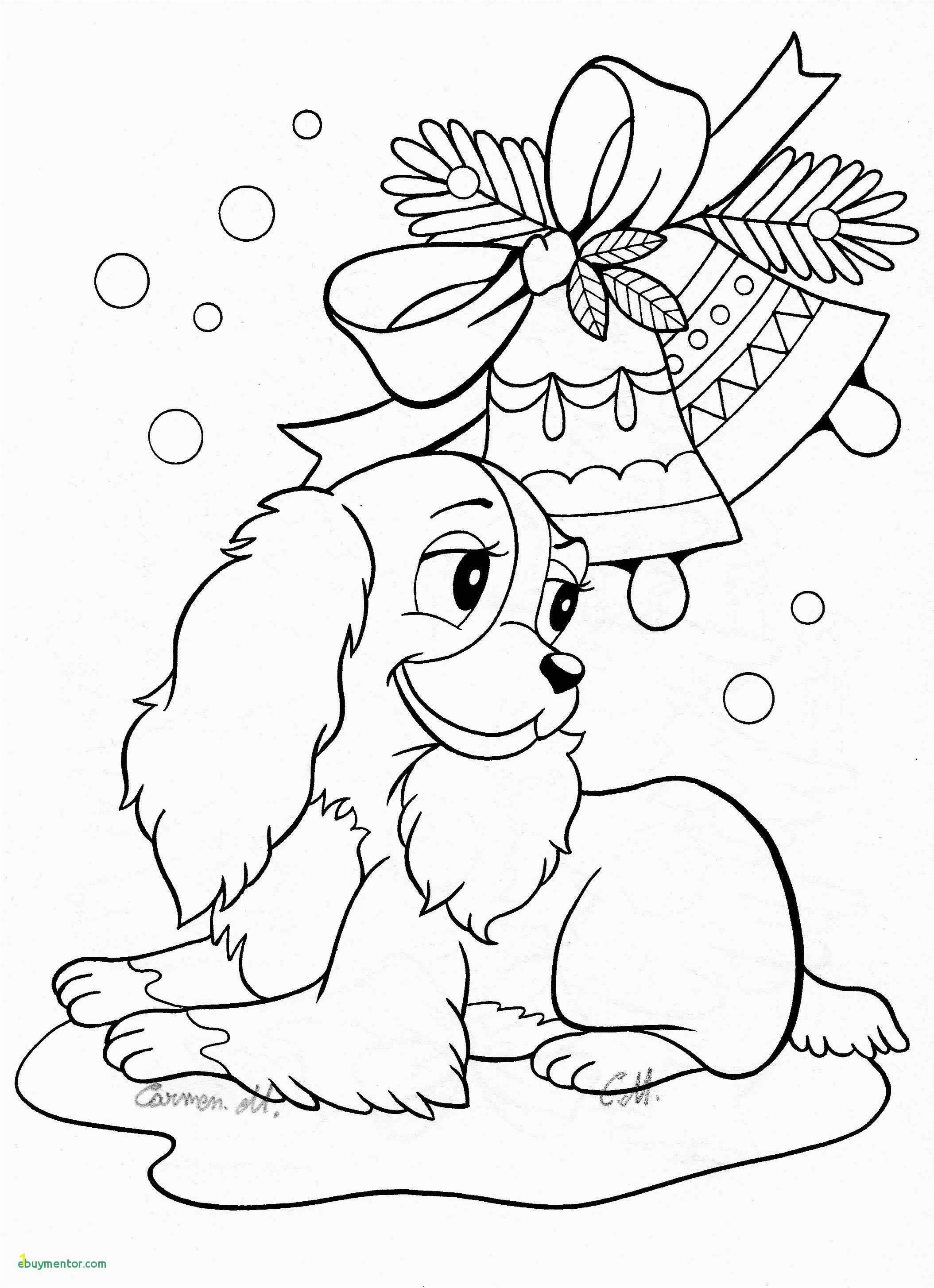 Dog and Puppy Coloring Pages Christmas Puppy Coloring Pages Christmas Coloring Pages Puppy Fresh