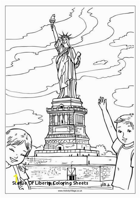 Liberty Kids Coloring Pages 29 Statue Liberty Coloring Sheets
