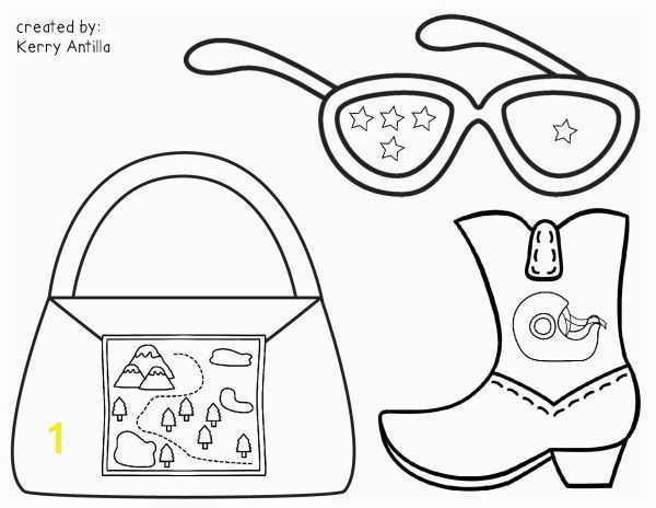 Lily Purple Plastic Purse Coloring Pages Chrysanthemum Book Coloring Pages